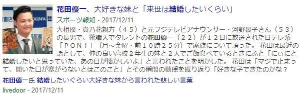 花田優一(22)