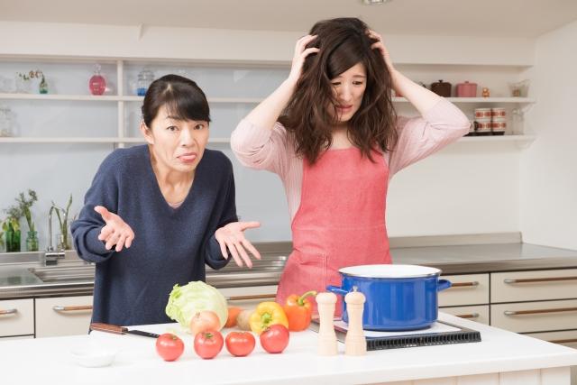 手料理を作ったら「おふくろは、もっとしっかり煮込んでいるよ」と言われた!マザコン度高め?