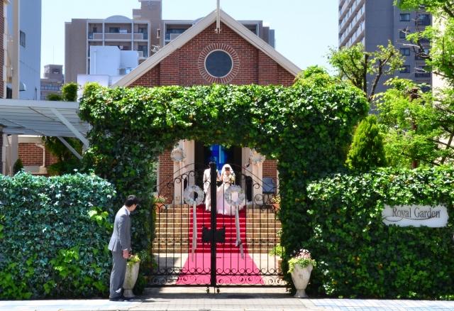 結婚式の会場や日取りを決める