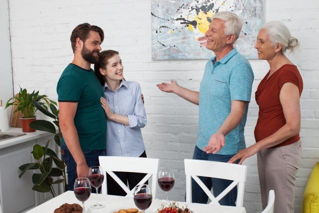 両家の親への挨拶